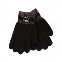 """Перчатки для мальчика """"Мода"""" серые"""