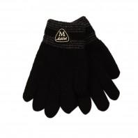 """Перчатки для мальчика """"Мода"""" черные"""