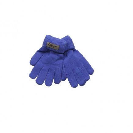 Перчатки Глория голубые