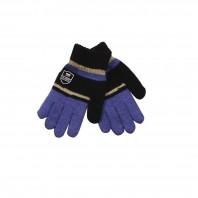 Перчатки для мальчика Classic сине-голубые