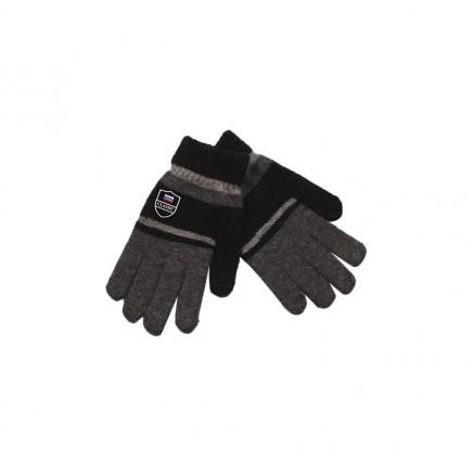 Перчатки для мальчика Classic темно-серые